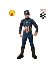 Captain America Dlxe Avg4: 6-8 | Apparel