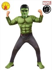 Hulk Deluxe Avg4: 5-7yr | Apparel