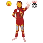 Iron Man Deluxe: Size 6-8   Apparel