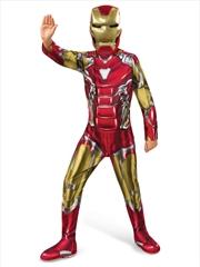 Iron Man Deluxe Avg4: 6-8   Apparel