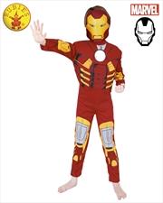Iron Man Deluxe Costume: 3-5   Apparel