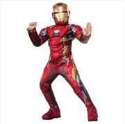 Iron Man Premium: Size 6-8   Apparel