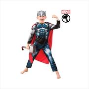 Thor Classic Costume: Size 3-5 | Apparel