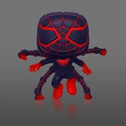 Marvel's Spider-Man: Miles Morales - Programmable Matter Suit Glow US Exclusive Pop! Vinyl [RS] | Pop Vinyl
