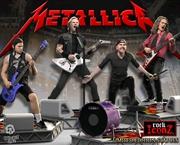 Metallica - Rock Iconz Statue Set of 4 | Merchandise