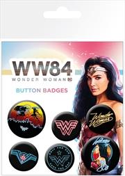 Wonder Woman 1984 Neon Mix Badge 6 Pack | Merchandise