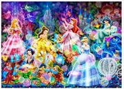 Tenyo Puzzle Disney Brilliant Dream Puzzle 266 pieces | Merchandise