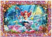 Tenyo Puzzle Disney Ariel's Beautiful Mermaid Puzzle 266 pieces | Merchandise