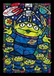 Tenyo Puzzle Disney Toy Story Alien Stained Glass Puzzle 266 pieces | Merchandise