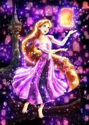 Tenyo Puzzle Disney Rapunzel Bright Dream in the Night Sky Puzzle 266 pieces | Merchandise