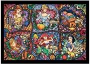 Tenyo Puzzle Disney Brilliant Princess Stained Glass Puzzle 500 pieces | Merchandise