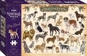 Vintage Puzzle - Dog Breeds 1000 Piece Puzzle | Merchandise