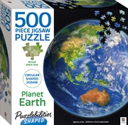 Puzzlebilities Shaped 500 Piece Jigasw - Planet Earth | Merchandise