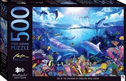 Mindbogglers Artisan Jigsaw: Day of the Dolphins 500 Piece Puzzle | Merchandise