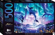 Mindbogglers Artisan Jigsaw: The Music of Aurora 500 Piece Puzzle | Merchandise