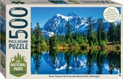 National Park Collection Jigsaw: North Cascades, Washington 1000 Piece Puzzle | Merchandise