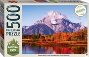 National Park Collection - Grand Teton, Wyoming 500 Piece Puzzle | Merchandise