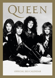 Queen 2021 A3 Calendar | Merchandise