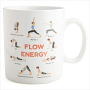 Yoga Poses Giant Coffee Mug | Merchandise