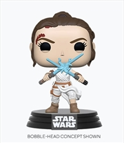 Star Wars - Rey with 2 Lightsabers Pop! Vinyl | Pop Vinyl