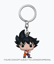 Dragon Ball Z - Goku w/Kamehameha Pop! Keychain | Pop Vinyl