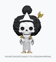 One Piece - Brook Pop! Vinyl | Pop Vinyl