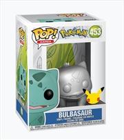 Pokemon - Bulbasaur SV MT 25th ANNIV Pop! RS | Pop Vinyl