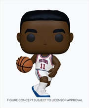 NBA: Legends - Isiah Thomas (Pistons Home) Pop! | Pop Vinyl