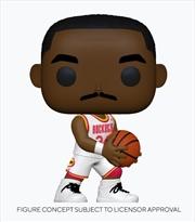 NBA - Legends - Hakeem Olajuwon (Rockets Home) Pop! Vinyl | Pop Vinyl