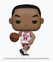 NBA - Legends - Scottie Pippen (Bulls Home) Pop! Vinyl | Pop Vinyl