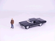 Supernatural - '67 Chevy Impala with Dean 1:24 Scale Hollywood Ride | Merchandise