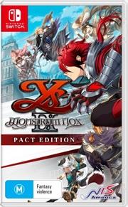 Ys Ix Monstrum Nox Pact Edition | Nintendo Switch
