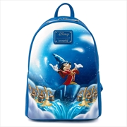 Loungefly - Fantasia - Sorcerer Mickey Mini Backpack | Apparel