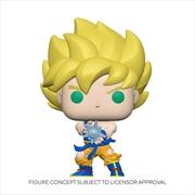 Dragon Ball Z - Super Saiyan Goku with Kamehameha Wave Diamond Glitter US Exclusive Pop! Vinyl  | Pop Vinyl