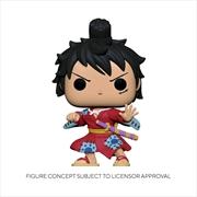 One Piece - Luffy in Kimono Metallic US Exclusive Pop! Vinyl [RS] | Pop Vinyl