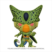 Dragon Ball Z - Cell First Form Glow US Exclusive Pop! Vinyl [RS] | Pop Vinyl