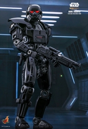 "Star Wars: The Mandalorian - Dark Trooper 1:6 Scale 12"" Action Figure | Merchandise"