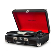 CROSLEY Cruiser Deluxe Portable Turntable - Black | Merchandise