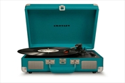 CROSLEY Cruiser Deluxe Portable Turntable - Teal | Merchandise