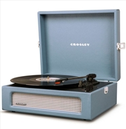 Crosley Voyager Portable Turntable - Washed Blue | Hardware Electrical