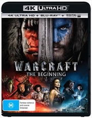 Warcraft - The Beginning | Blu-ray + UHD + UV | UHD