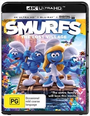 Smurfs - The Lost Village | Blu-ray + UHD + UV | UHD