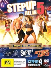 Step Up | 5 Pack | DVD
