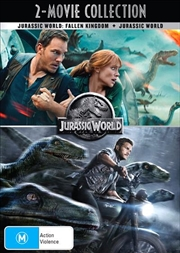 Jurassic World / Jurassic World - Fallen Kingdom | 2 Movie Franchise Pack | DVD