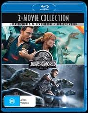 Jurassic World / Jurassic World - Fallen Kingdom | 2 Movie Franchise Pack | Blu-ray