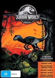 Jurassic Park / Jurassic Park - The Lost World / Jurassic Park III / Jurassic World / Jurassic World | DVD
