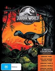 Jurassic Park / Jurassic Park - The Lost World / Jurassic Park III / Jurassic World / Jurassic World | Blu-ray