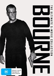 Bourne - Movie 1-5 | Collection | DVD