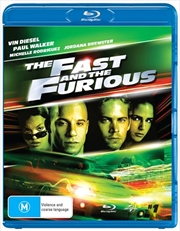 Fast And The Furious, The | Blu-ray