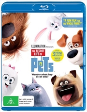 Secret Life Of Pets, The | Blu-ray